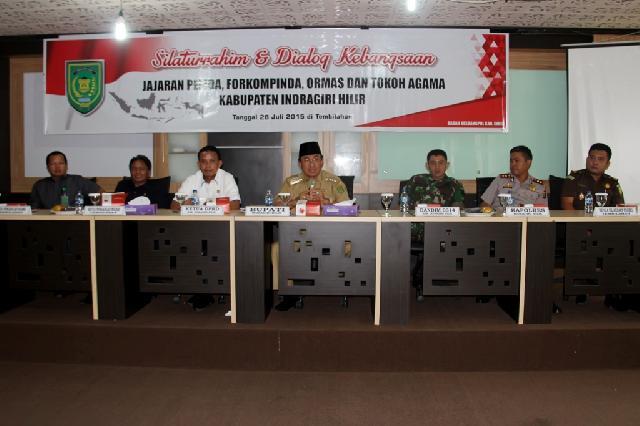 Pemkab Inhil Taja Silaturrahmi dan Dialog Kebangsaan