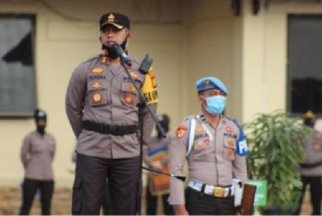 Polres Bengkalis Terbaik dalam Program Kampung Tangguh se-Riau