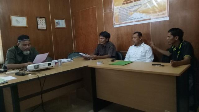 Pengurus DPC Partai IDAMAN Inhil Laporkan Keberadaannya Ke KPU