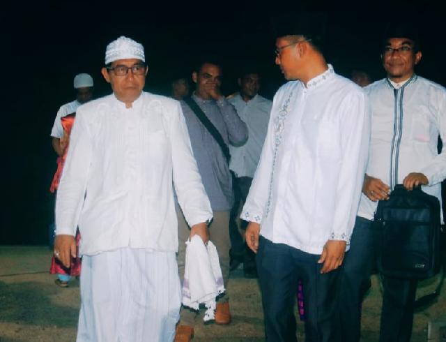 Sekda Meranti Yulian Norwis Hadiri Maulid Nabi Muhammad SAW 1441 H di Desa Tanjung Bakau Rangsang