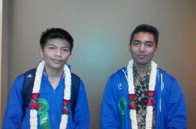 Dua Siswa Indonesia Raih Penghargaan Sains dan Rekayasa Kelas Dunia