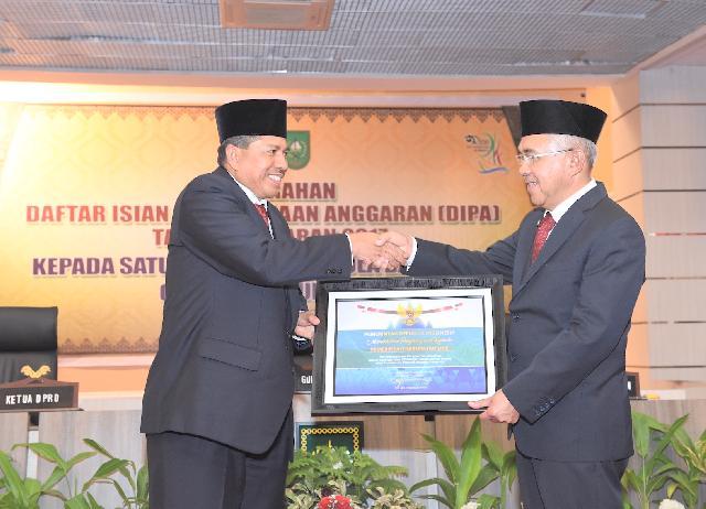 DIPA 2015 Sukses, Siak Dapat Penghargaan Dari Menteri Keuangan RI