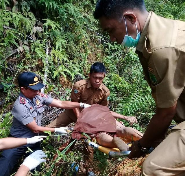 Mayat Wanita Tanpa Identitas Ditemukan di Parit Jalan Lintas Tanjung Medan