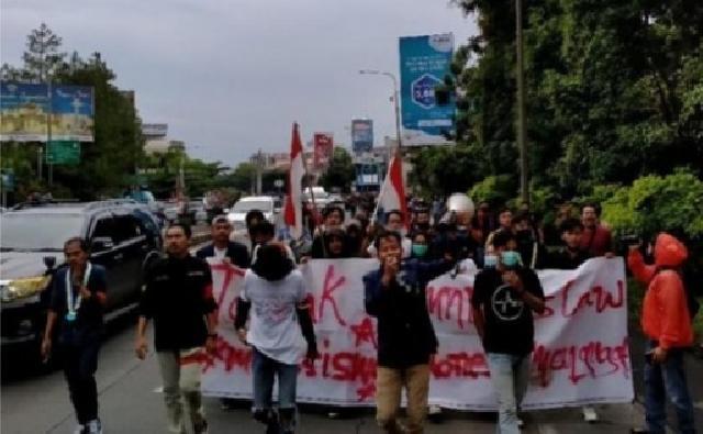Hari Sumpah Pemuda, Mahasiswa Kembali Demo Tolak UU Ciptaker