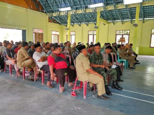Babinsa Koramil 03 Siak Menghadiri Rapat Koordinasi Persiapan Panitia Lokal Dalam Rangka Mtq