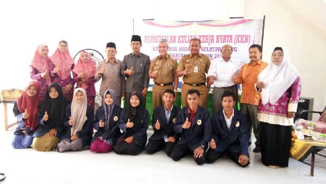 Wakil Bupati Meranti Lepas 146 Mahasiswa STAI Nurul HidayahLaksanakan KKN