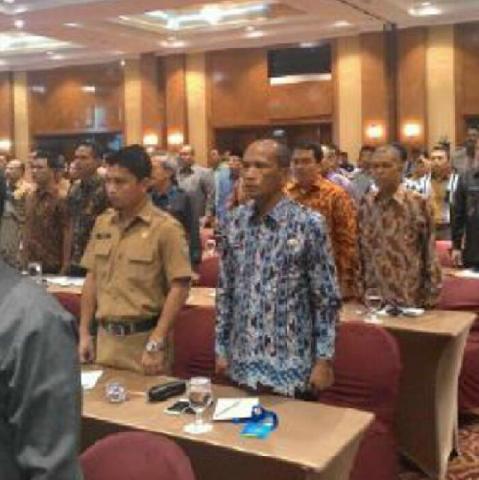 Sekdakab Pelalawan Hadiri Rapat Rekornas 2015 di Jakarta