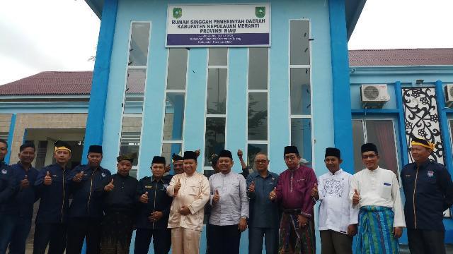 Bupati Meranti Kukuhkan Pengurus IKM Meranti Karimun 2017-2022,dan Resmikan Rumah Singgah di Karimun