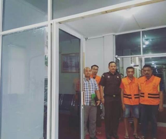 3 Tersangka Ditahan Polda Riau