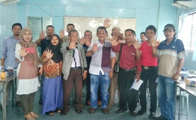 DPC Lembaga Anti Narkotika Kabupaten Kepulauan Meranti Gelar Rapat Perdana Pengurus