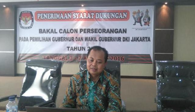 KPU Pastikan Pilkada DKI 2017 Tanpa Calon Independen