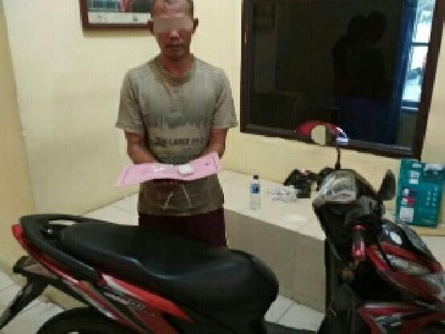 SY alias YN, Petani Sungai Baung Diciduk Polisi