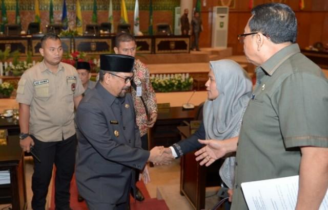 41 Rekomendasi Banggar DPRD Riau, APBD Perubahan 2019 Rp9,426 triliun naik Rp297 miliar