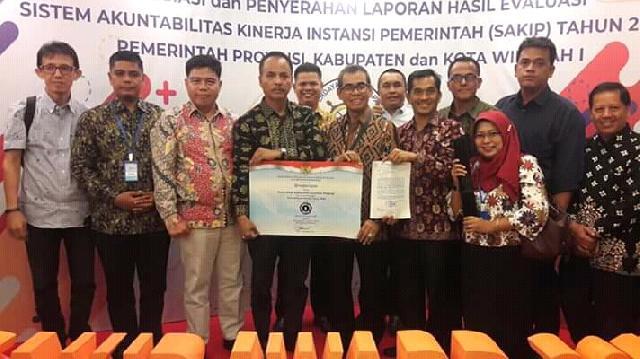 Pemkab Kuansing Meriah Nilai B Predikat SAKIP Tahun 2018