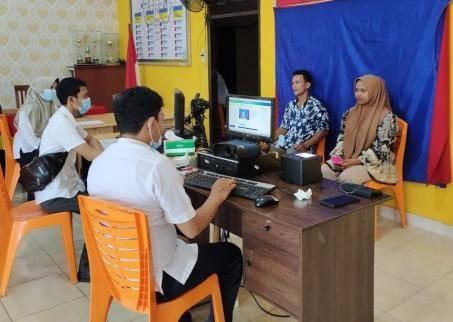 Luar Biasa, Disdukcapil Kabupaten Kuansing Perekaman KTP Elektronik Capai Target Nasional