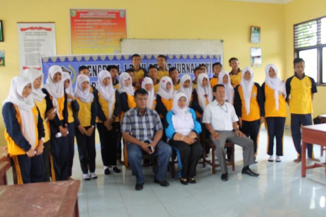 SMAN 2 Rengat Barat Ikuti Pelatihan Jurnalistik dari PWI Inhu