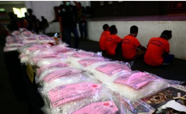 Tegas! Tembak Mati Bandar Narkoba, Polisi Sita 100 Kilogram Sabu