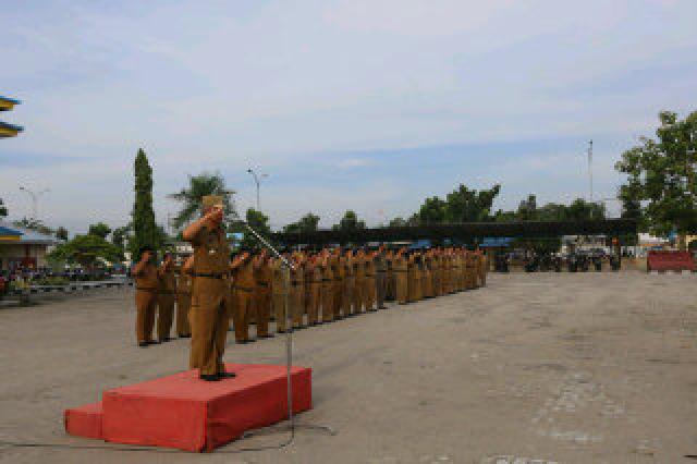 Wabup Perintah Kepala SKPD Bina Pegawai Tak Disiplin, dan Minta Pegawai Jaga Prilaku Ditengah Masyar