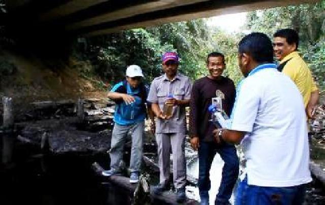 DLH Rohul Berkan Waktu 1 Bulan Perbaiki Kolam Limbah PKS Torganda