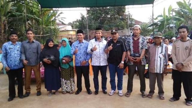 Reses ke Desa Air Molek II, Anggota DPRD Kab Inhu, Ust M Syafaat S Hi Jaring Aspirasi Masyarakat