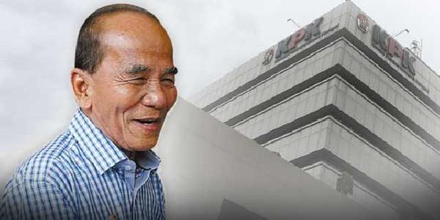 Gubernur Riau Annas Maamun Ditahan di Rutan Guntur