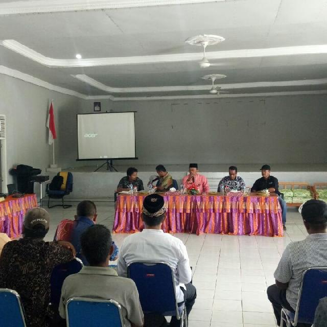 PT. Timah Lakukan Sosialisasi Tingkatkan Kerjasama Di Kecamatan Rangsang