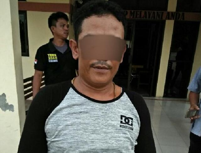 Miliki Narkoba, Pria Asal Inhil Dibekuk Polsek Batang Gansal