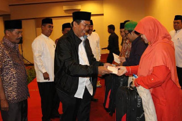 Walikota Pekanbaru Minta Para Qori dan Qori'ah Agar Menampilkan Kemampuan Terbaiknya
