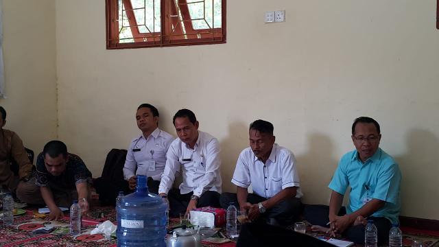 Sekda Sambut Kedatangan Tim Penilai Dari Kementerian dan Pemerdayaan Masyarakat Desa Provinsi Riau K