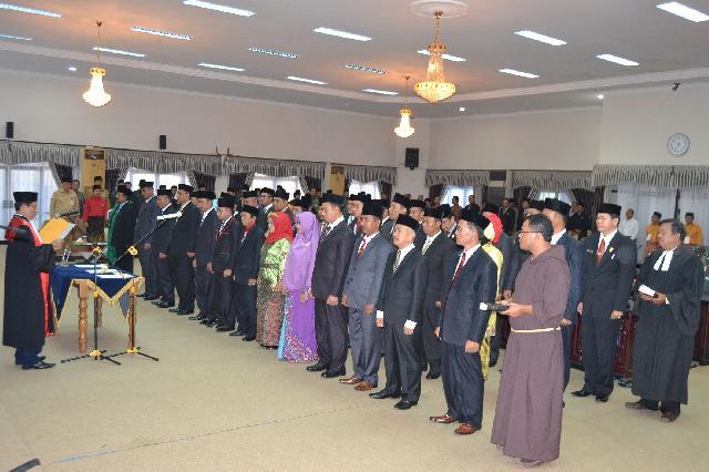 Dua Mantan Pimpinan Sementara DPRD Inhu Jadi Ketua Komisi