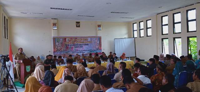 Pemkab Inhu Musrenbang di Kecamatan di Kuala Cenaku Prioritaskan 52 Usulan
