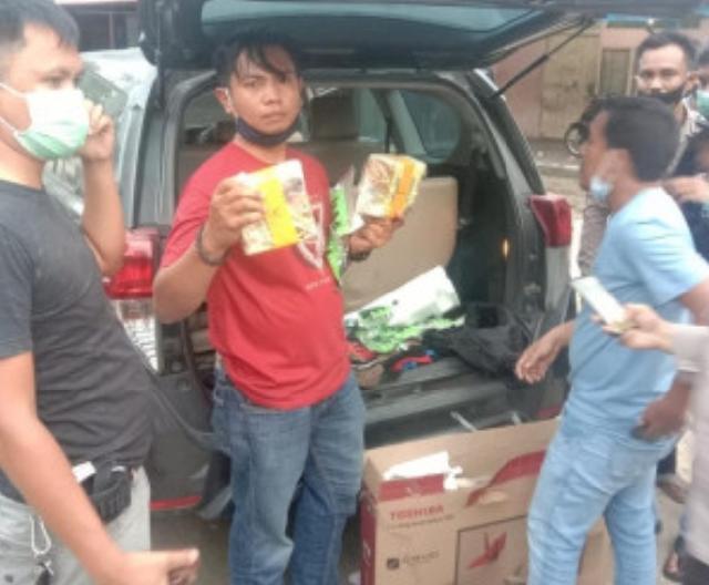 Polresta Pekanbaru Gagalkan Peredaran 13 Kg Sabu dan 10.000 Butir Pil Ekstasi