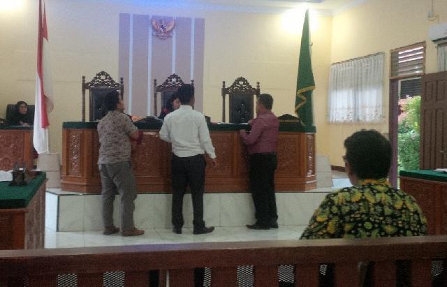 Sidang Pra pradilan Mantan Kades Usul, PN Rengat Tunjuk Omori R Sitorus Hakim Tunggalnya