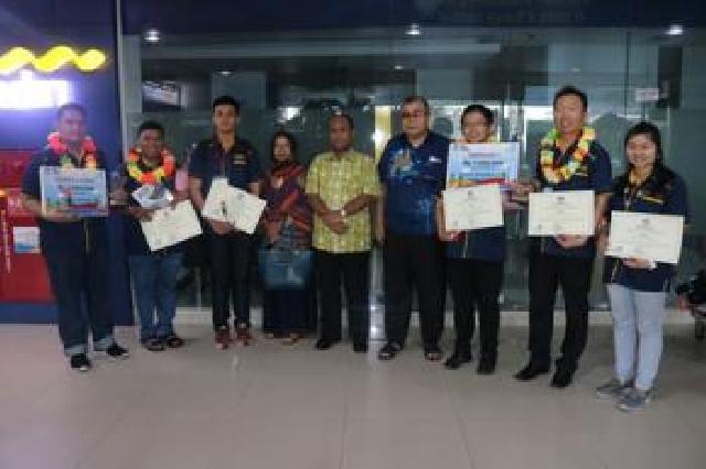 Hebat, Riau Juara Lomba Debat Bahasa Asing Siswa SMK Tingkat Nasional