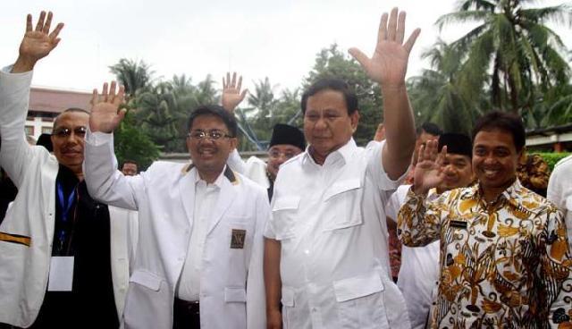 Ini Komentar Prabowo dan Presiden PKS Soal 4 November