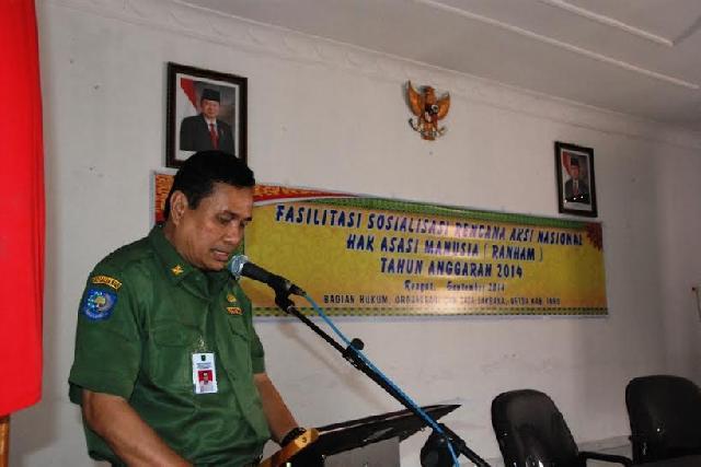Inhu Melaksanakan Sosialisasi Ranham