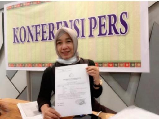 Merasa Dikriminalisasi, Sri Deviyani Lapor Dua Penyidik ke Propam Polda Riau