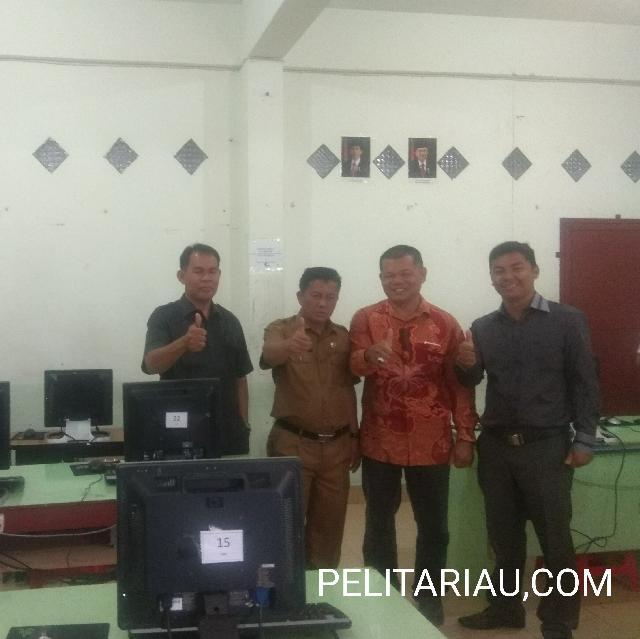 Kasi Pembelajaran Kurikulum Provinsi Riau,Sambangi Sekolah YSUBB Perguruan Patria Darma Meranti