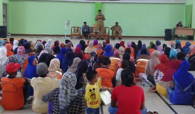 DLH Rohil Gelar Halal Bihalal Bersama Staf dan Petugas Kebersihan