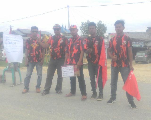 PP Sabak'auh Siak Kumpulkan Sumbangan Untuk Korban Gempa Aceh