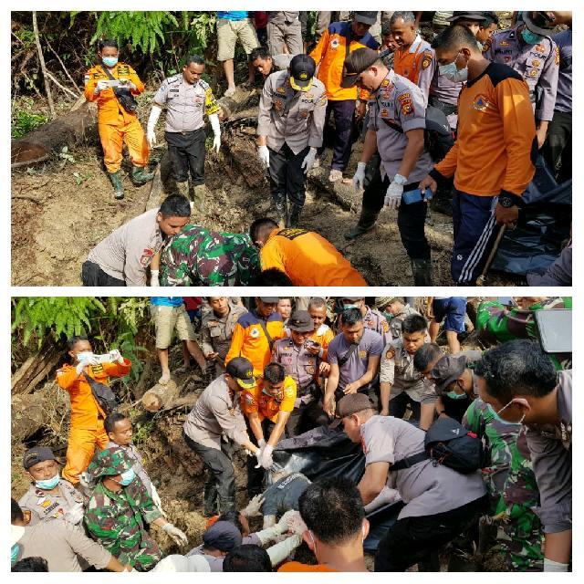 2 Korban Longsor Desa Rokan Koto Ruang Ditemukan, Setelah Dua Hari Pencarian