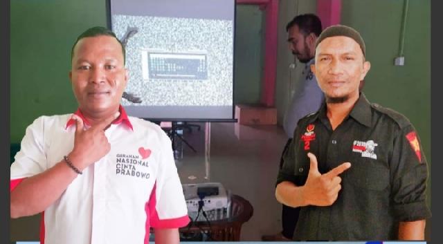 Ketua dan Pengurus GNCP Kabupaten Meranti Ajak Masyarakat  Nonton Bareng Debat Capres Cawapres 2019