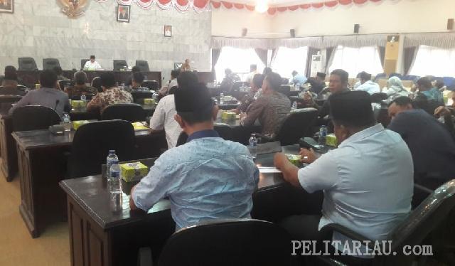 PKPI Keluar Dari Koalisi Golkar dan Fraksi Nasdem-Hanura Bubar di DPRD Inhu, 7 Fraksi Disahkan