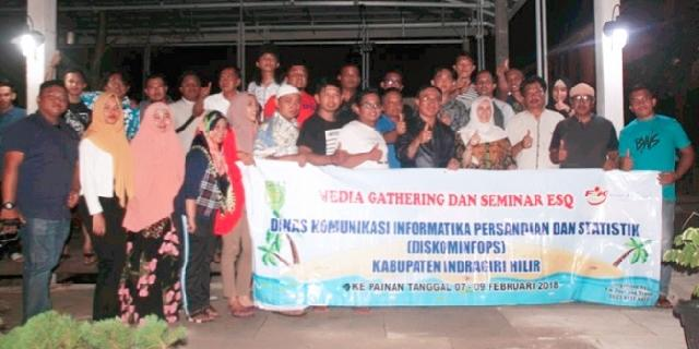 Hadiri Malam Keakraban Media Gathering, Bupati Inhil Ajak Wartawan Bangun Daerah Lewat Pemberitaan