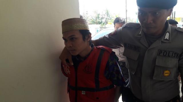 Pembunuh Bhabinsa di Guntung, Kateman Dituntut Hukuman Mati