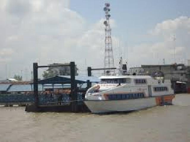 Senin, Atlit Porprov Meranti Diberangkatkan Menggunakan Tiga Speedboat