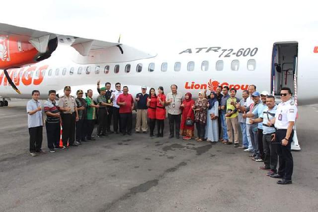 Wings Air Mendarat Di Bandara Japura