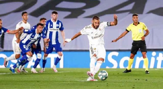 Kalahkan Alaves, Madrid Kembali Jauhi Barcelona