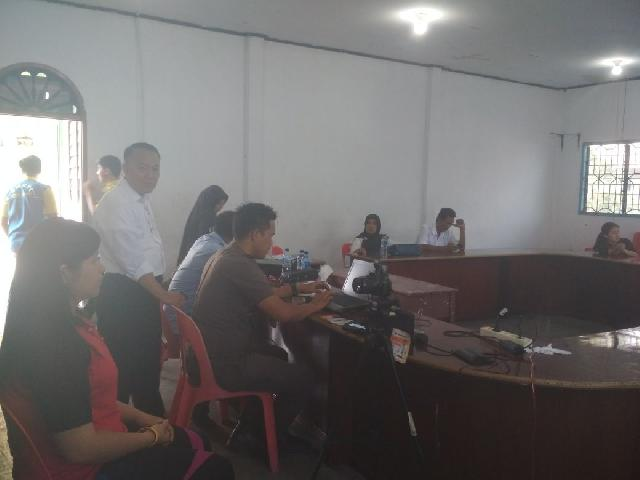 Disdukcapil Meranti Datangi Sekolah SMA di Kabupaten Meranti Jelang Pilpres 2019