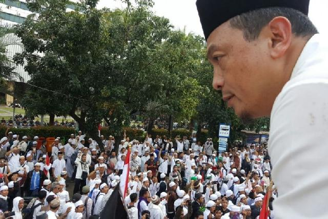 Demo 4 Nopember Disusupi Provokator Berambut Cepak